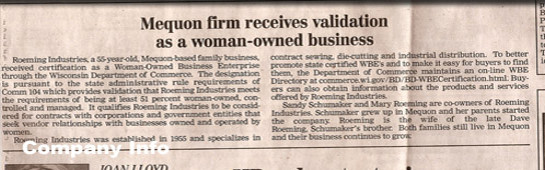 Mequon firm receives validation as a woman-owned business