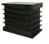 shock absorbing floor plates
